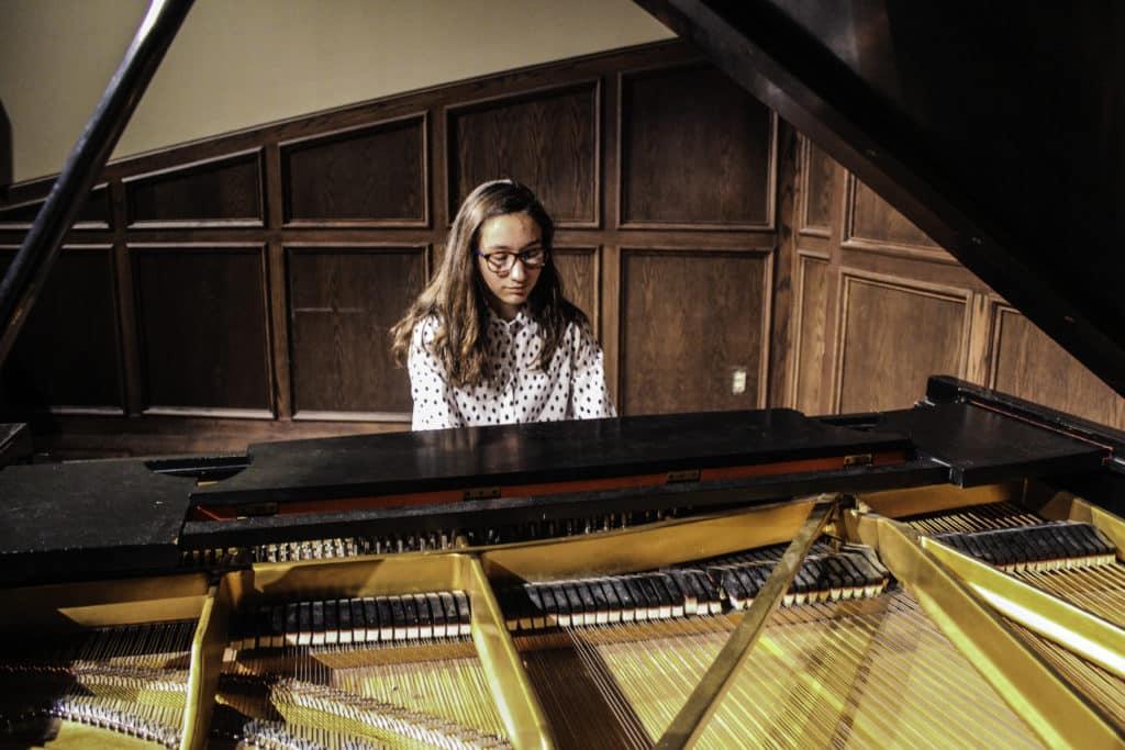 HSPVA Piano Student