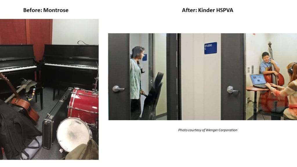 Soundproof Music Rooms: New campus feature for Vocal and