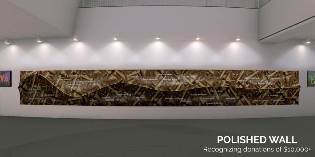 Kinder HSPVA Polished Donor Wall