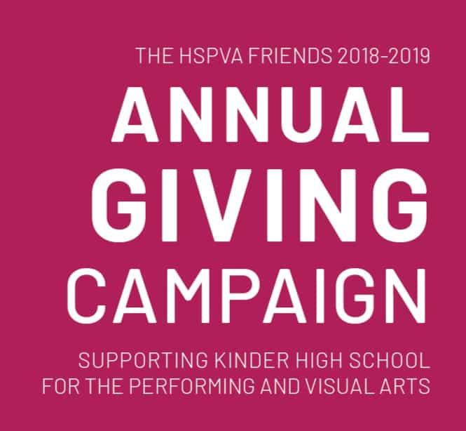 HSPVA Friends Annual Giving Campaign